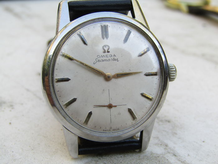 Omega Seamaster men's wristwatch 1960