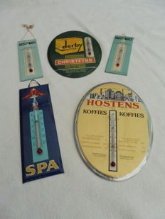 Lot of 5 thermometers 1960s/1970s