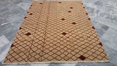 High Quality  9/9  Kilim Sumak Saveh Hand Woven 100% Wool 2.36 x 1.66 Authentic