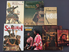 Samurai; Lot with six books about these famous Japanese warriors - 1958/2008