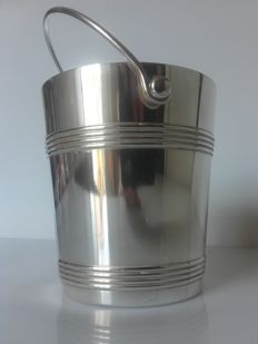Christofle Gallia - ice bucket (silver plated metal)