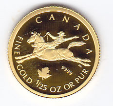 Canada – 50 Cents 2006 – 1/25 oz gold