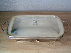 Large silver plated food warmer - Germany