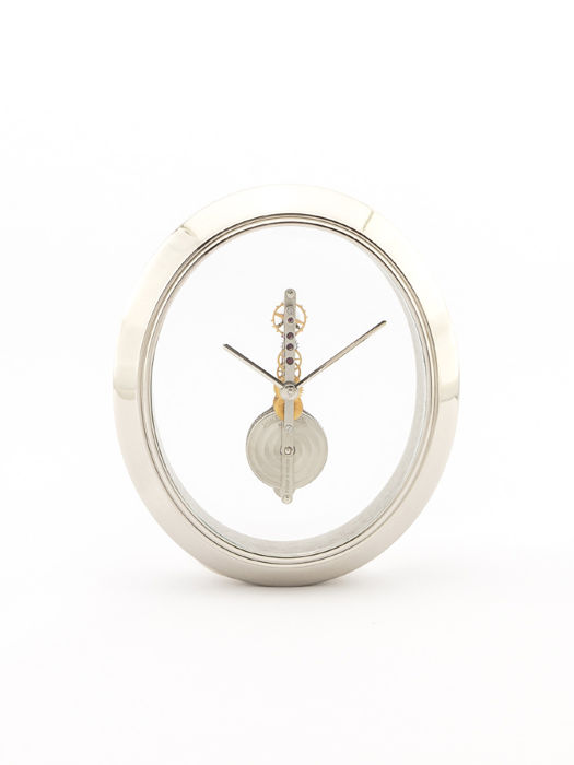 Jaeger-LeCoultre table clock with 8 days bridge movement, 1970s
