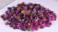 Lot of Natural Ruby Specimens - 387 cts