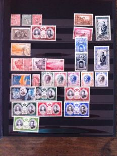 World - Stamps collection including Italy, Monaco, United Nations, Brazil, DDR, Netherlands, United Nations, Europe.