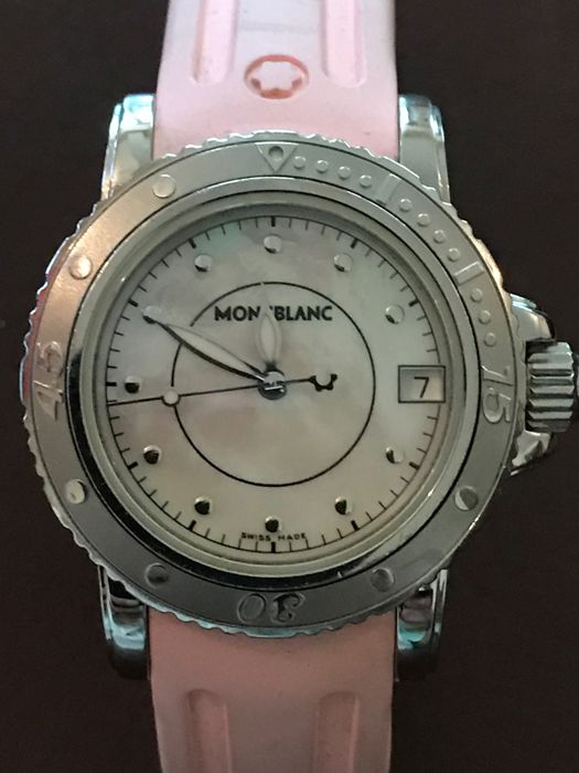 Montblanc - Montblanc Mother of Pearl Watch - Dames - 2000-2010