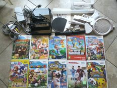 052a453db0 Wii Console with 11 nintendo games , 7 skylanders and more