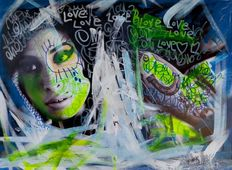 Steffen Fink - Graffiti Amy