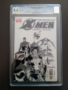 Marvel Comics - Astonishing X-men #13 - Sketch Cover Variant - CGC 9.8 (Best Noted Issue) - 1x SC - (2006).
