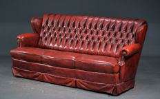 Three seat couch in Chesterfield style, 20th century