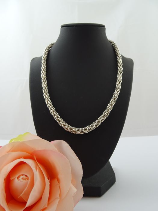 Silver, 925 kt necklace, 50.8 cm