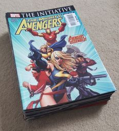 Collection Of Marvel Comics – The Mighty Avengers Vol 1 – Complete Set – Issues 1-36 – x36 SC – (2007/2010)