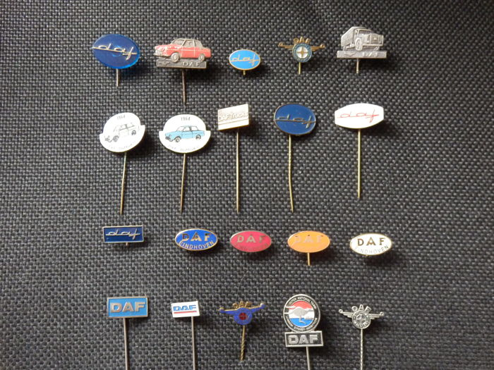 Collection of 20 x Daf Pins