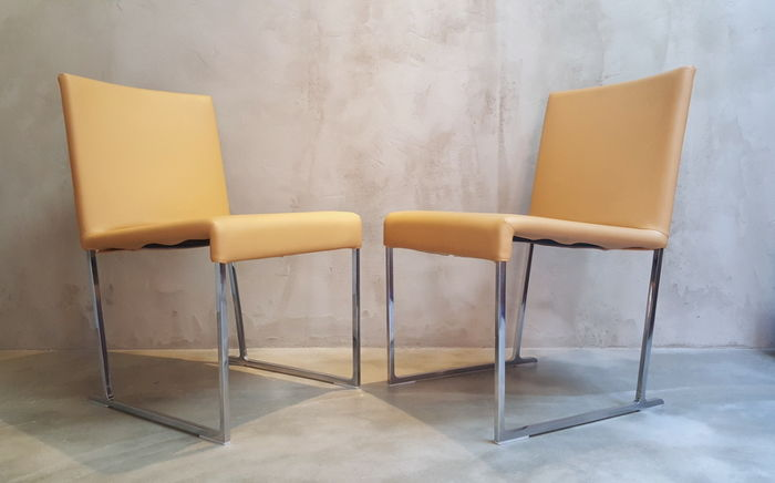 Antonio Citterio for Bu0026B Italia u2013 2 x Solo S47 chairs & Antonio Citterio for Bu0026B Italia u2013 2 x Solo S47 chairs - Catawiki