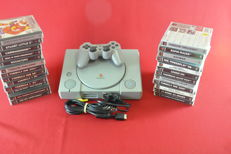 Sony Playstation1 (PS1) with 25 games
