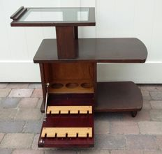 Designer unknown - Vintage bar trolley