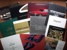Jaguar, 12x brochures for USA market - 3.8, 4.2, XJ6, XJ12, XJ-S, etc