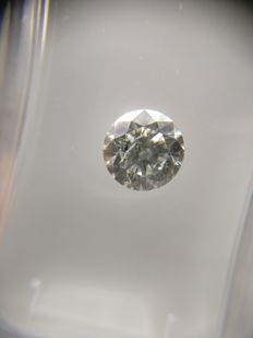 0.71 ct Round cut diamond F SI3
