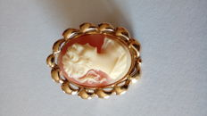 Cameo – Gold: 18 kt