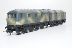 Lima H0 - from set 149705 - Double diesel locomotive Series V 188 of the German Military in camouflage livery