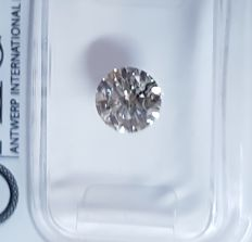 0.88 ct Round Brilliant cut diamond F SI2