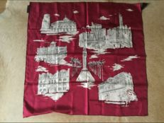 Burberry silk scarf very beautiful