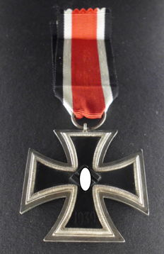Iron Cross 2nd Class WW2 3rd Reich, Germany with Manufacturer mark 27, rare