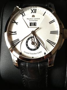 Maurice lacroix Pontos Grand Guichet GMT aut - Men's watch - 2009
