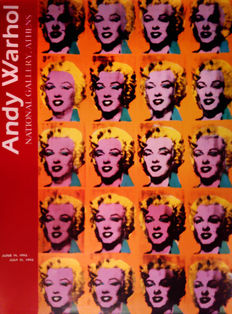 Andy Warhol (after) - Exhibition Athens - 1993