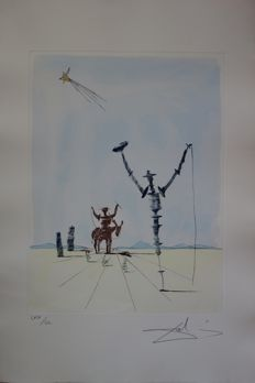 Salvador Dalí - Don Quichotte et Sancho Panza
