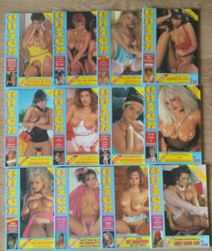 Pornography; Lot with 12 issues by Chick Nederland - 1990