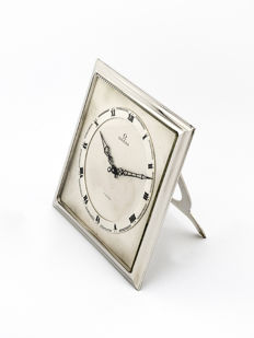Omega table clock with 8-day movement - Art Deco - 1920s