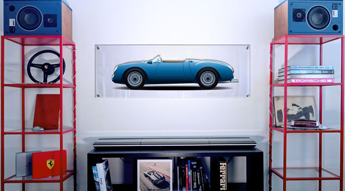 Halmo Collection Porsche 550 RS Plexiglass print