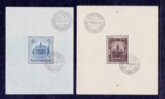 Belgium 1936 - blocks of Borgerhout and Charlerloi - OBP BL5 and 6