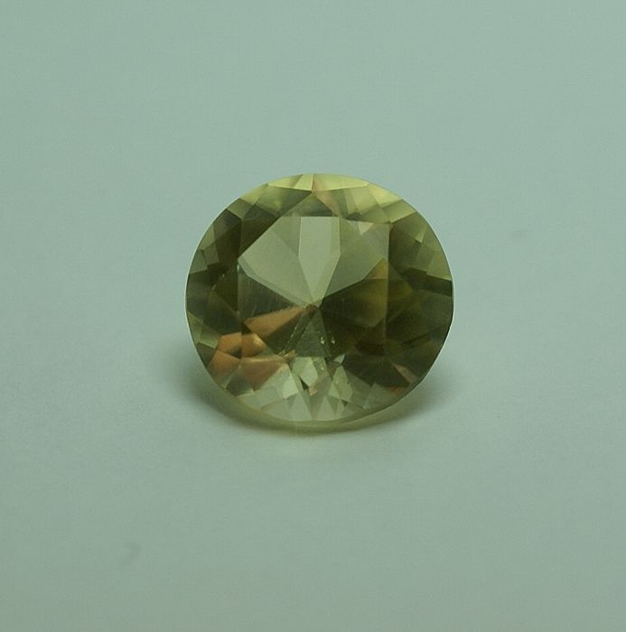 Aragonite, yellow - 8.54 ct