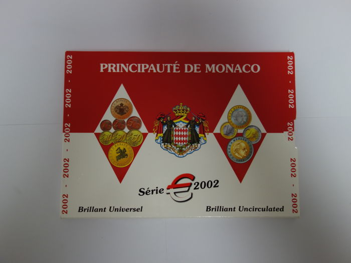 Monaco – Year pack Euro coins 2002