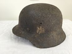 German helmet M-42 WW2. Decal. Wehrmacht
