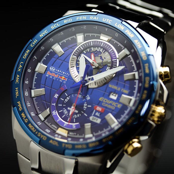 Casio Edifice Red Bull Infiniti Racinc Limited Edition Men S Wrist
