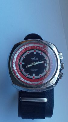 Rasec – 3 crowns – Jumbo – 44 mm – Serviced