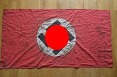 NSDAP flag with Swastika WWII 1938