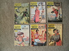Collection Of Classics Illustrated (US & UK) x 35 SC