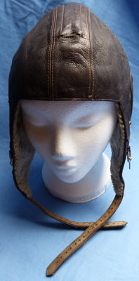 Original WW2 German Luftwaffe Flying Helmet