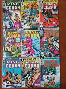 Collection Of Marvel Comics - King Conan - Including Issues 1 2 3 4 5 + Many More - x52 SC - (1980/1989)
