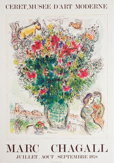 Marc Chagall - Ceret. Musee d'art moderne - 1978