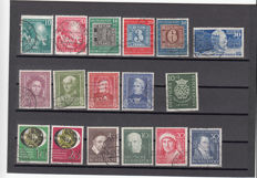 Federal Republic of Germany 1949 collection from 1949-1954