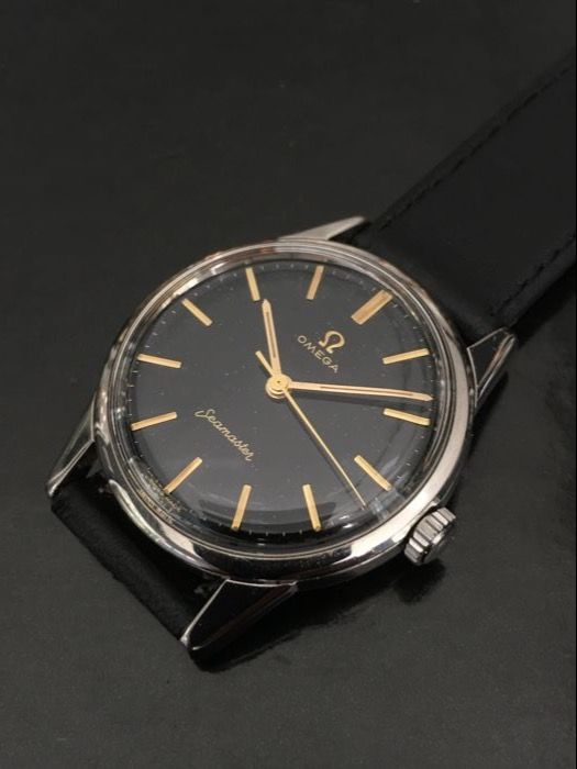 Omega Seamaster 1962, Black dial mens watch