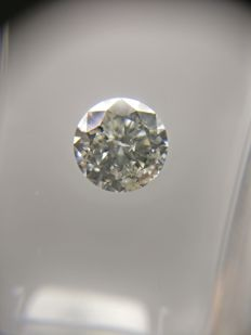 0.90 ct Round cut diamond G SI3