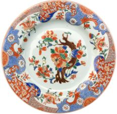 Famille rouge plate - China - ca. 1730 (Yongzheng period)