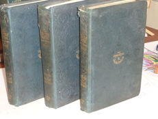 lot of 3 books  - Charles Dickens - All the year round -1880 / 1882